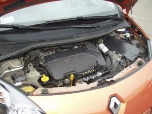 silnik z instalacją gazową w Renault Twingo