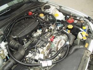 silnik Subaru Baja instalacja gazowa