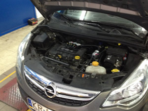 Opel Corsa - silnik