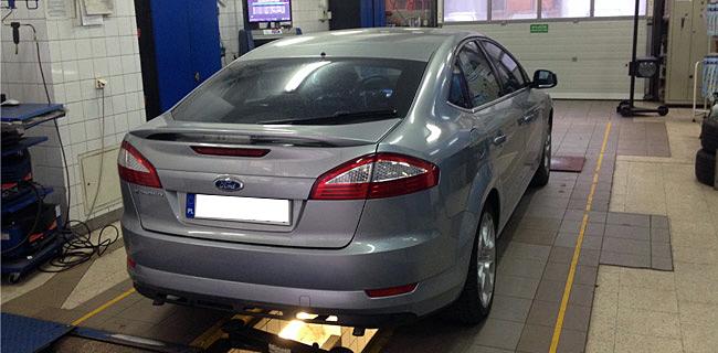 Ford Mondeo Instalacja gazowa