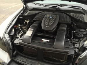 Wtryski gazu BMW X5