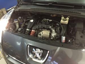 Wtryski gazu Peugeot