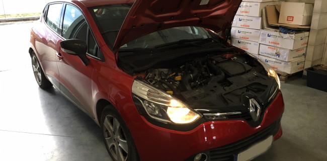 Renault Clio instalacja gazowa