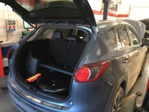 Mazda CX5 bagażnik