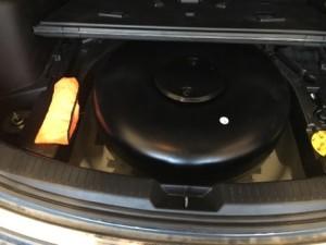 Mazda CX5 butla z gazem
