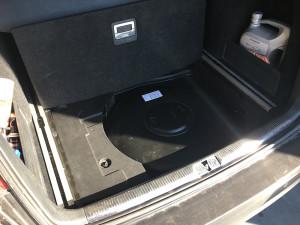 VW Passat 2006 2,0 butla z gazem w kole zapasowym