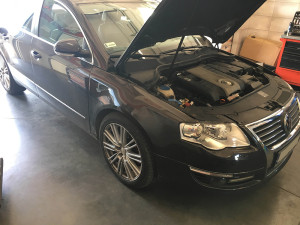 VW Passat 2006 silnik z instalacją gazową