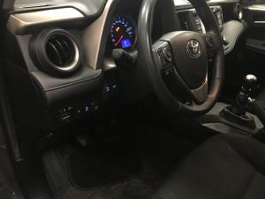 Toyota Rav4 przełącznik gazu