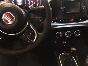 Fiat 500L - przełącznik gazu
