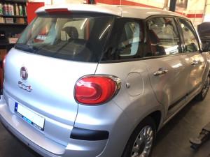 Fiat 500L Instalacja gazowa