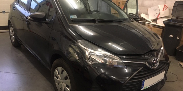 Toyota Yaris Instalacja gazowa