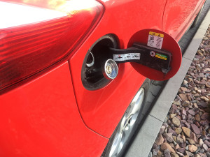 Ford C Max wlew paliwa