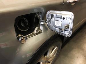 Subaru Tribeca wlew gazu lpg