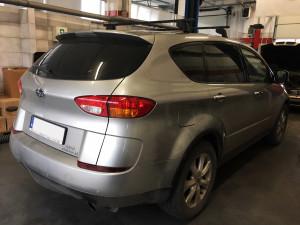 Subaru Tribeca instalacja gazowa BRC