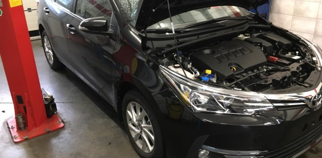 Toyota Corolla przód