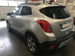 Opel Mokka wlew paliwa lpg