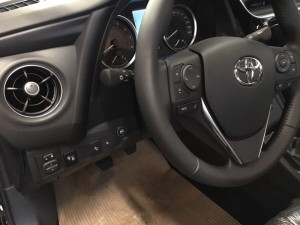 Toyota Corolla przełącznik gazu