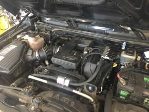 HUMMER H3 silnik z gazem LPG