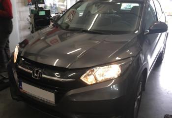 Honda HRV 2018 rok przód instalacja gazowa