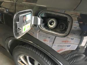 Dodge Durango 3.6 wlew paliwa LPG