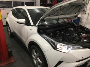 Toyota C-HR wtryski LPG