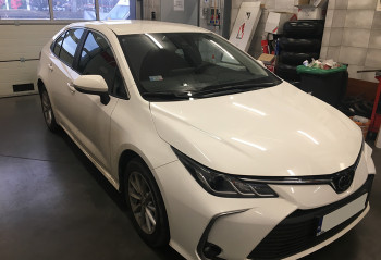 Toyota Corolla E21 instalacja gazowa lpg