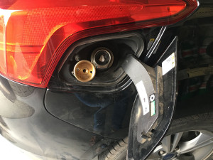 Ford Focus wlew gazu lpg