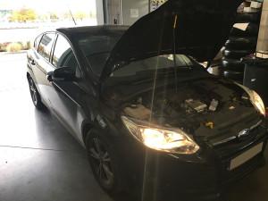 Ford Focus instalacja gazowa