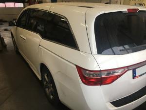 Honda Odyssey instalacja gazowa lpg