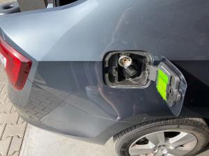 Skoda Rapid wlew paliwa
