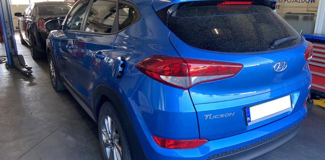 Hyundai Tucson tyl